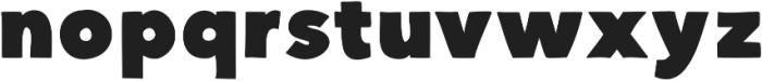 DSChunkster ttf (400) Font LOWERCASE