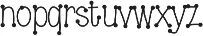 DSDotsaLot ttf (400) Font LOWERCASE