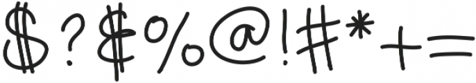 DSDreamsHandwritten ttf (400) Font OTHER CHARS
