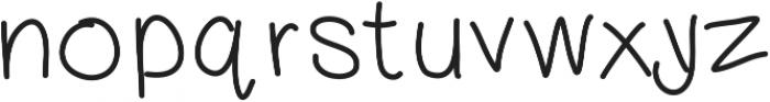 DSDreamsHandwritten ttf (400) Font LOWERCASE
