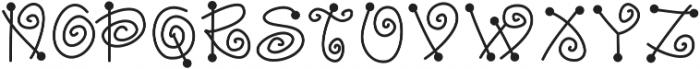 DSFairyDust ttf (400) Font UPPERCASE