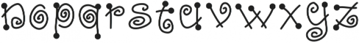 DSFairyDust ttf (400) Font LOWERCASE