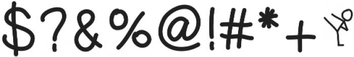 DSKidKick ttf (400) Font OTHER CHARS
