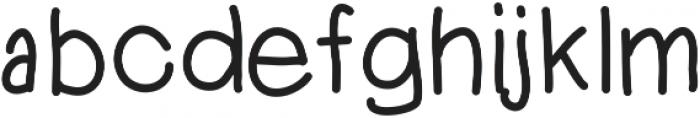 DSKidKick ttf (400) Font LOWERCASE