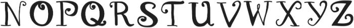 DSMagicalUnicorn ttf (400) Font UPPERCASE