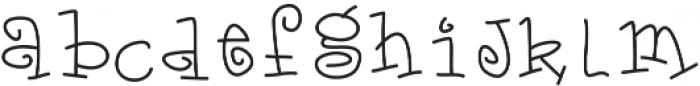 DSMagicalUnicorn ttf (400) Font LOWERCASE