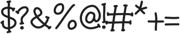 DSMorningCoffee ttf (400) Font OTHER CHARS
