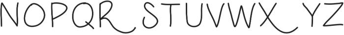 DSRoastedChestnuts ttf (400) Font UPPERCASE