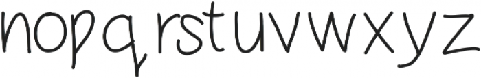 DSRoastedChestnuts ttf (400) Font LOWERCASE