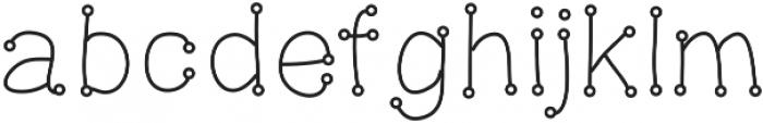 DSSnowballFight ttf (400) Font LOWERCASE