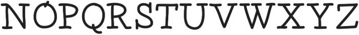 DSTomcat ttf (400) Font UPPERCASE