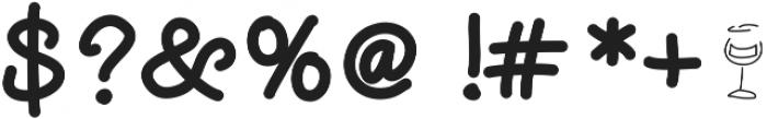 DSWineNot ttf (400) Font OTHER CHARS
