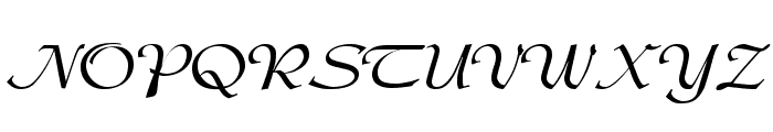 DS Admiral Font UPPERCASE