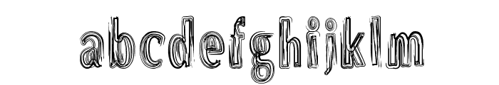 DS Brushes Normal Font LOWERCASE