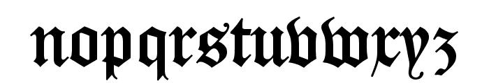 DS Caslon Gotisch OsF Font LOWERCASE