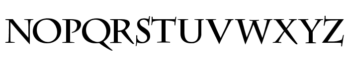 DS CenturyCapitals Font LOWERCASE