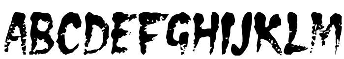 DS Eraser2 Font LOWERCASE