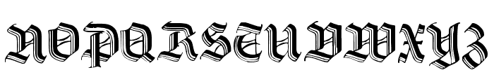 DS HermannGotisch Font UPPERCASE