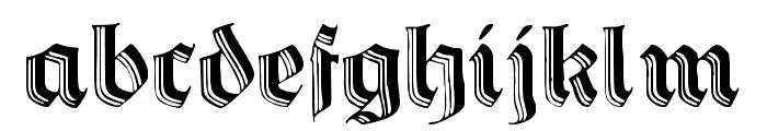 DS HermannGotisch Font LOWERCASE