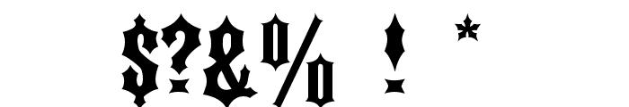 DS Kork Font OTHER CHARS