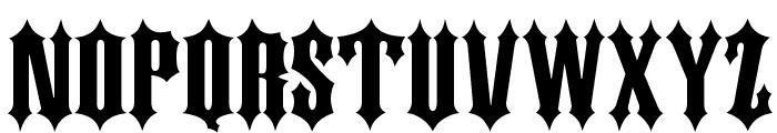 DS Kork Font UPPERCASE