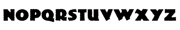 DS Lemiesz Font UPPERCASE