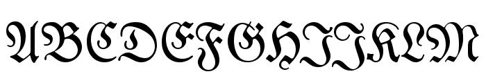 DS Luthersche Font UPPERCASE
