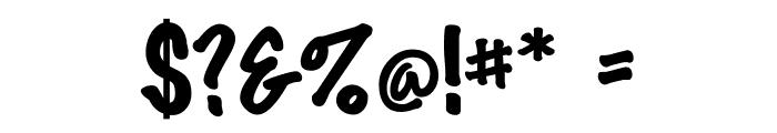 DS Marker Felt Font OTHER CHARS