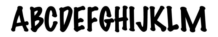 DS Marker Felt Font UPPERCASE