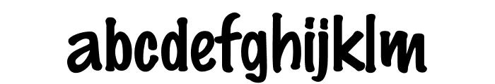 DS Marker Felt Font LOWERCASE