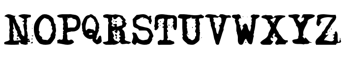 DS Moster Font UPPERCASE