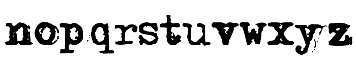 DS Moster Font LOWERCASE