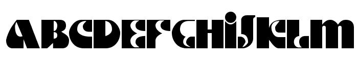 DS Motter Style Font UPPERCASE