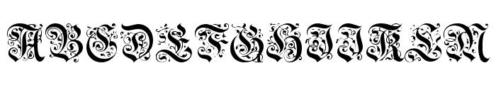 DS-Schmuck Font UPPERCASE