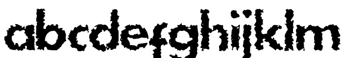 DS Stain Font LOWERCASE