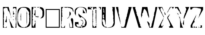 DS Stamp Cyr Font UPPERCASE