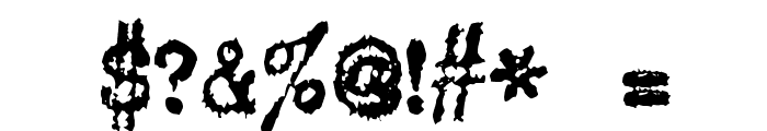 DS VTCorona Cyr Font OTHER CHARS