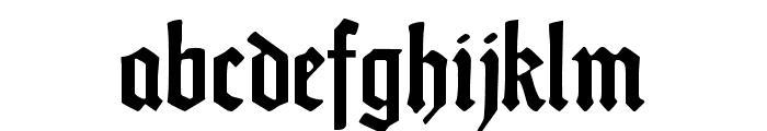 DS Weiss-Gotisch Alt Font LOWERCASE