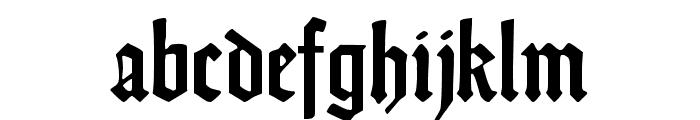 DS Weiss-Gotisch Font LOWERCASE
