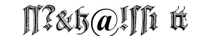DS Zierschrift Font OTHER CHARS