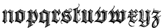 DS Zierschrift Font LOWERCASE