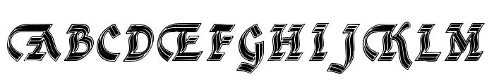 DSCathedralAlt Font UPPERCASE