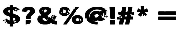 DSIODRER Font OTHER CHARS