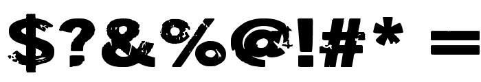 DSIODRER2 Font OTHER CHARS