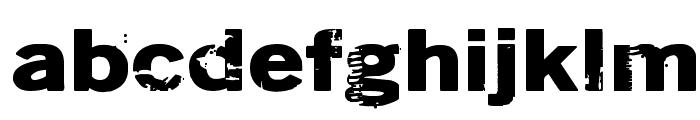 DSIODRER2 Font LOWERCASE