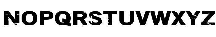 DSIODRER Font UPPERCASE