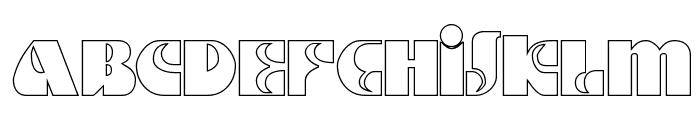 DSMotterHo Font UPPERCASE
