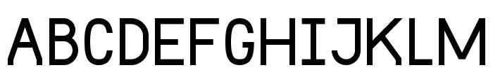 DST Font UPPERCASE