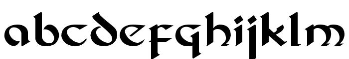 DS_Celtic 1 Font LOWERCASE