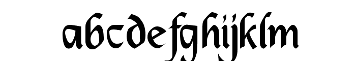 DS_Mysticora Font LOWERCASE